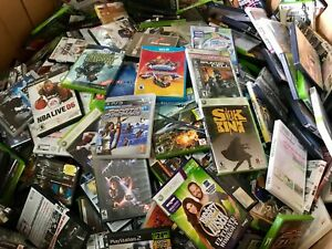 Play-Station-Xbox-Wii-GameCube-DS-PC-Games-Wholesale-50-Assorted-Video-Games-Lot
