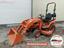 2014 Kubota Bx2370 Tractor With Loader Amp Mower Deck 148 Hours 4x4 Hydrostatic