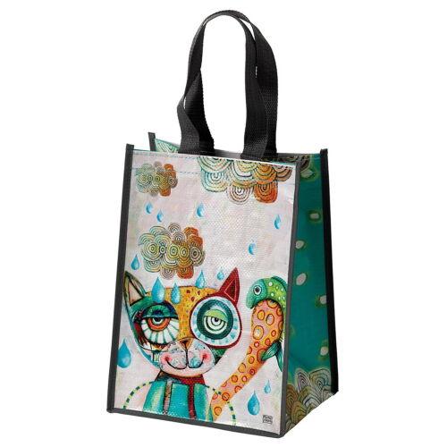 "/""CAT /& OWL/"" ALLEN DESIGNS by ENESCO Motiv Katze N° 643127 Shopping Bag"
