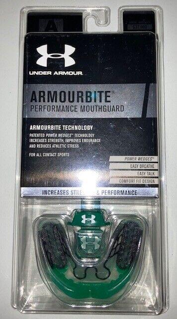 NIB Under Armour ArmourBite Mouthguard Adult Free Shipping Age 12+