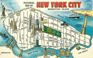 1950s-Map-Attractions-New-York-City-Postcard-Manhattan-Colorpicture-2427