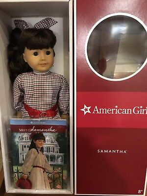 Travel Bag /& Gloves New in box American Girl Samantha/'s Travel Bag Set