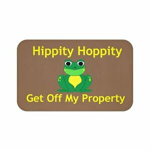 Hippity Hoppity Get Off My Property Mat Welcome Mat House Warmin Ebay See more of hippity hoppity this is now my property on facebook. ebay