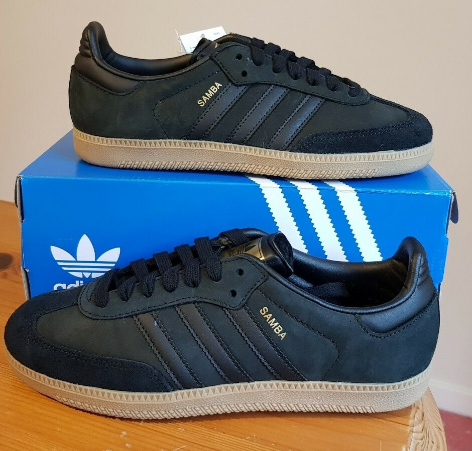 ADIDAS ORIGINALS SAMBA MEN'S  Size 4 (EUR 36 2 3) BZ0063 BNWT BRAND NEW IN BOX