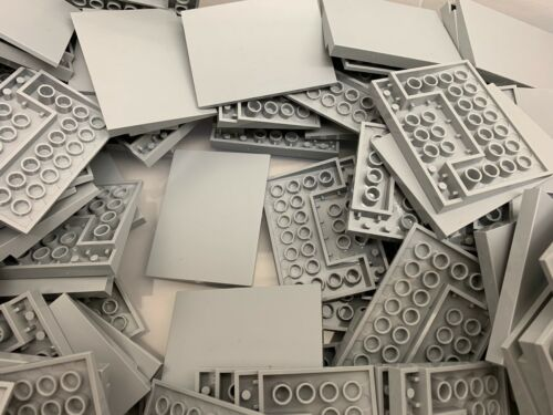 NEW Light Grey 6x8 Smooth Slope Tile LEGO 4515 1 Piece Per Order