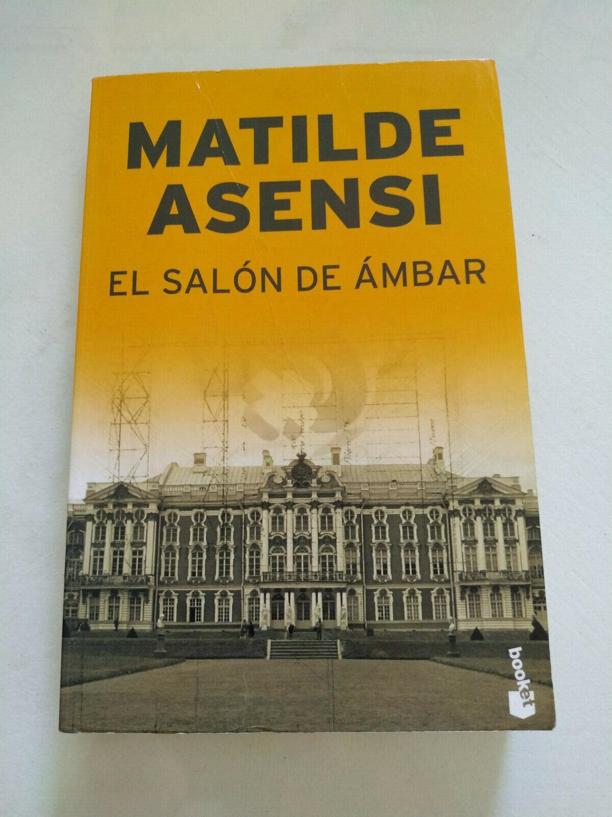 El Salon Ambar Matilde Asensi 2008 Booklet - LIBRO Español - Am