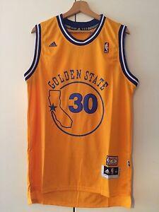 Canotta-nba-basket-maglia-Stephen-Curry-jersey-Golden-State-Warriors-S-M-L-XL
