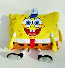 Nickelodeon SpongeBob SquarePants Pillow Pet Stuffed Animal Plush 18 x 14