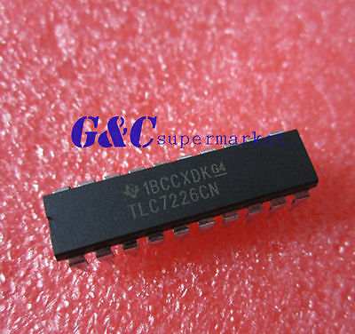 5PCS IC TLC7226 TLC7226CN TI DIP-20 8Bit NEW GOOD QUALITY