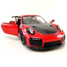 Kinsmart 1:36 Display Porsche 911 GT2 RS Diecast Car Model KT5408D
