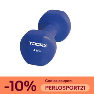 Toorx Manubrio Neoprene Pesi Antiscivolo Palestra da 0,5 1 2 3 4 5 6 kg Aerobica