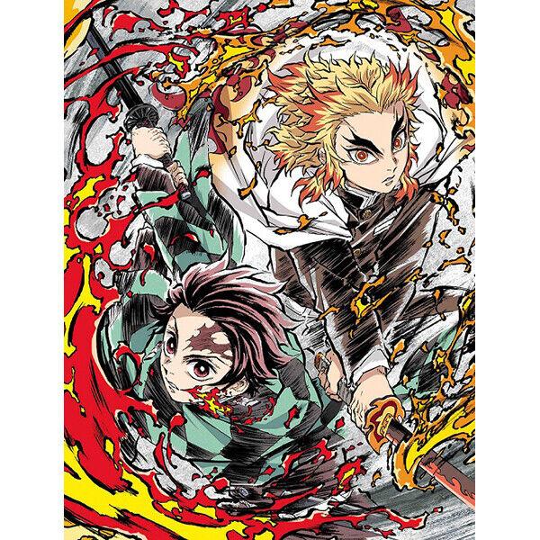 Kimetsu no Yaiba Movie Mugen Train DVD Blu-ray Limited Edition Demon Slayer