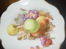Rosenthal Teller Obst 6 Stück Marke von 1891-1906 3 verschiedene Motive