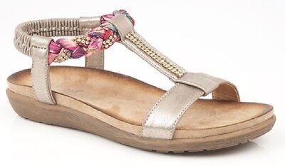 Women's Shoes Slippers Boulevard Lisa L9526 Elástico Con Joyas Atada Al Cuello Espalda Delaying Senility
