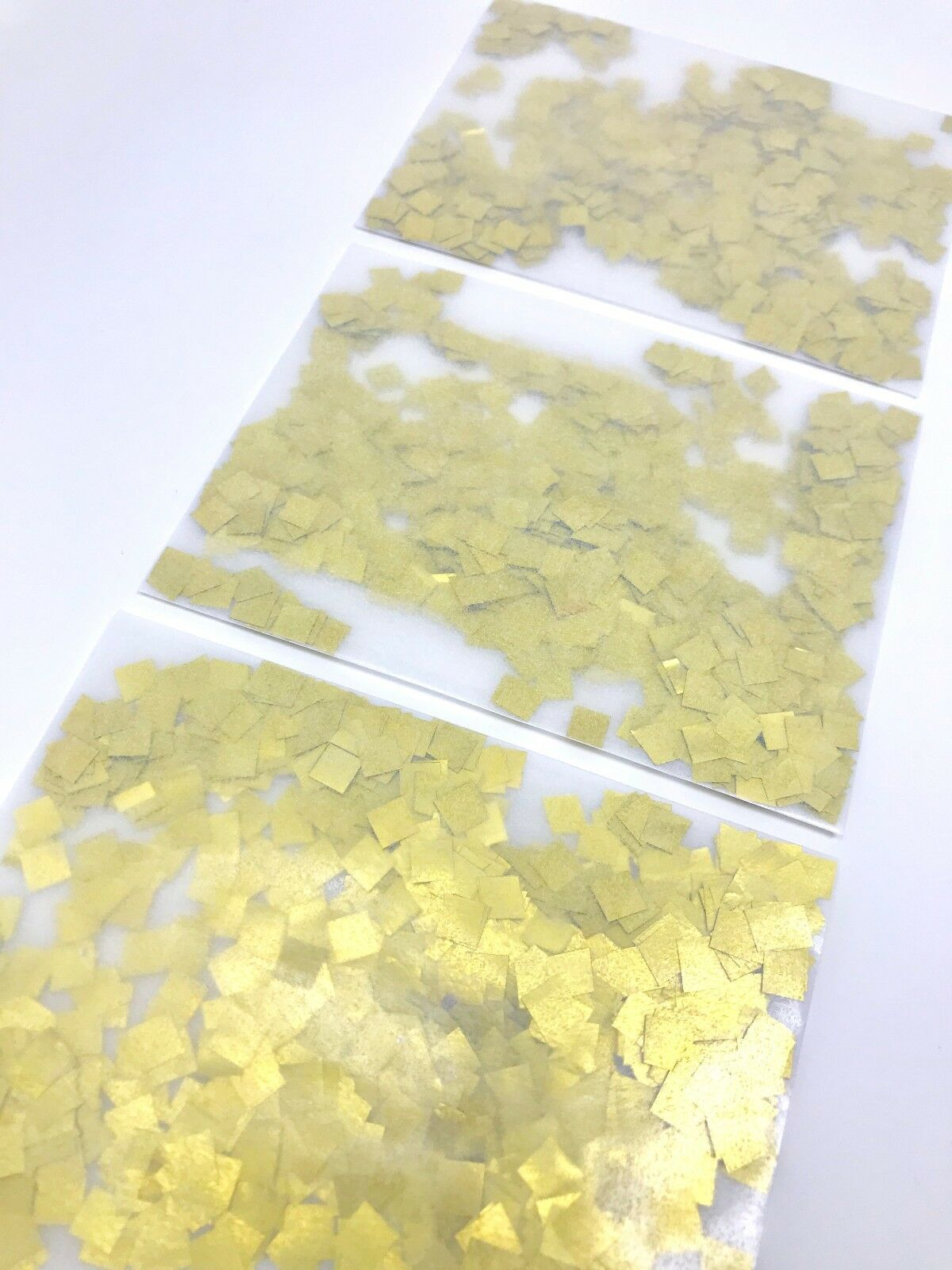 Feuille d'Or Mariage Confettis paquets flutterfall flutterfall paquets jeter des confettis Sac  Autocollant 348040