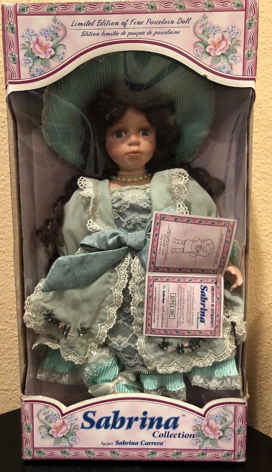 Sabrina Limited Edition Porcelain Doll 2001 by Sabrina Carrera