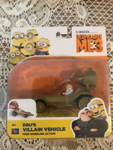 Despicable Me 3 DRU/'S VILLAIN VEHICLE ~ MINIONS ~ NIP