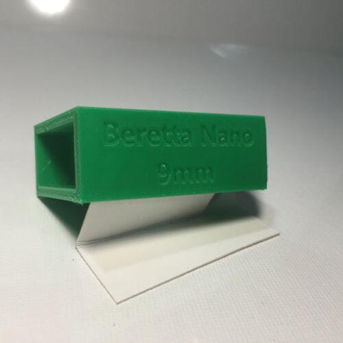 RangeTray Magazine Speed Loader SpeedLoader for Beretta Nano 9 mm 9mm GREEN