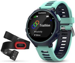 GARMIN-Forerunner-735XT-GPS-Multisport-amp-Running-Watch-Heart-Rate-Monitor-Blue