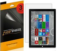 3x Supershieldz Hd Clear Lcd Screen Protector Shield For Microsoft Surface Pro 3