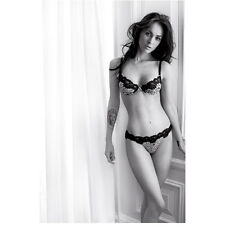 Megan Fox Posing in Underwear Showing Monroe Tattoo 8 x 10 Inch Photo