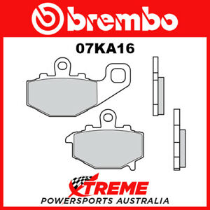 Brembo SP Sintered Rear Brake Pads to fit Kawasaki ZZR 600 E1-13 1993-2007