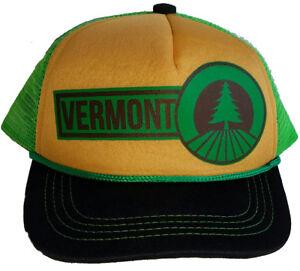 a4e255d757e 3-24 months Baby Child Vermont Green Tan Mesh Trucker Hat Cap ...