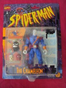 MARVEL COMICS SPIDER-MAN THE CHAMELEON TRANSFORMING IDENTITY 1996 TOY BIZ