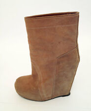 Rick Owens scarpe Shoes Boots Booties BROWN SIZE 39 - 40 UK 6 6.5 7