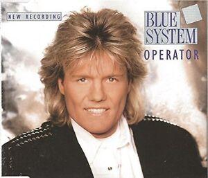 Blue-operatore-di-sistema-New-Recording-1993-Maxi-CD
