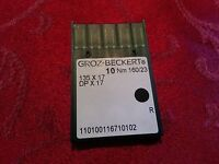 Groz-beckert Sewing Needles 135x17 Dpx17 Sy3355 Sz 125 20 Reg Consew Juki