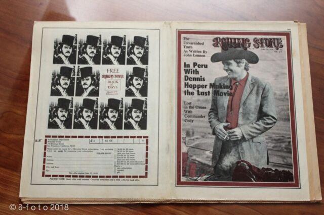 Rolling Stone Magazine - April 16, 1970 (#56) Dennis Hopper The Last Movie *1118