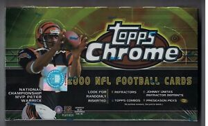 2000-Topps-Chrome-Football-Sealed-Hobby-Box-Urlacher-Pennington-Rookies-amp-MORE