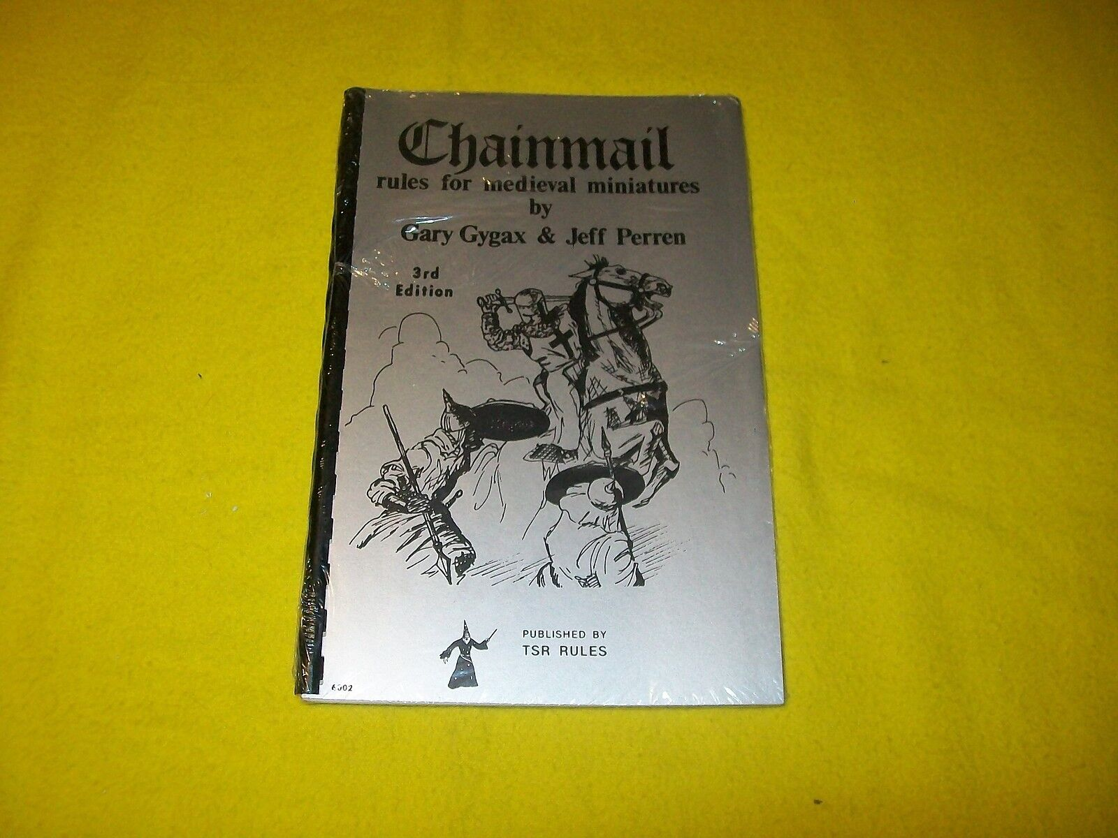 CHAINMAIL RULES FOR MEDIEVAL MINIATURES 3RD ED DUNGEONS & DRAGONS - 7 NEW SEALED
