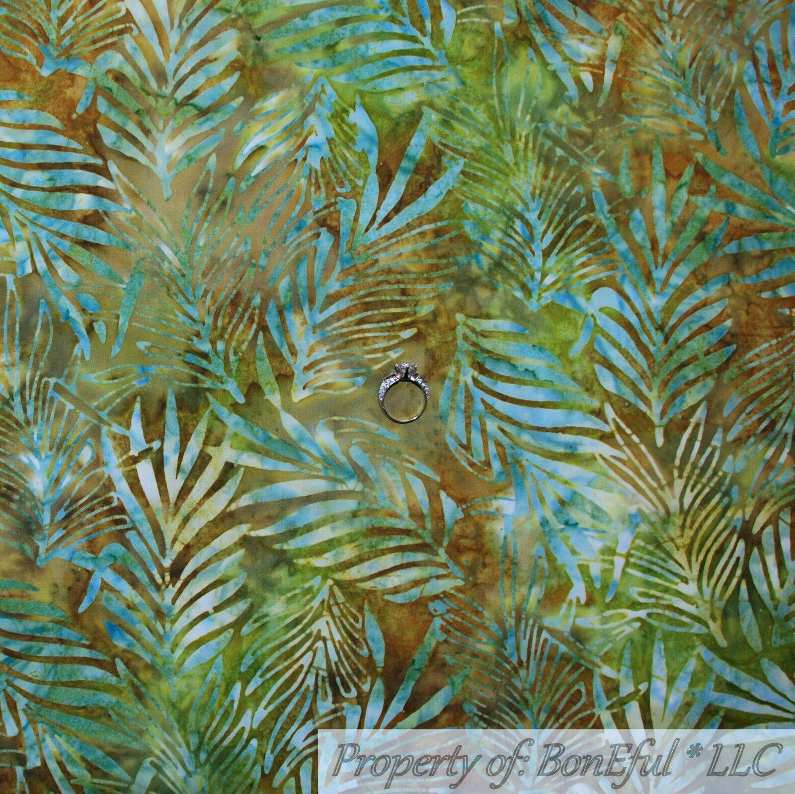 BonEful FABRIC FQ Cotton Quilt Brown Real Tree Bark Batik Pattern Print Bamboo