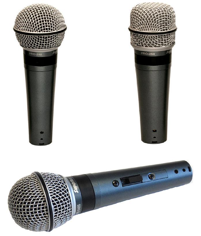 Superlux PRO microphones - 248   248S   258