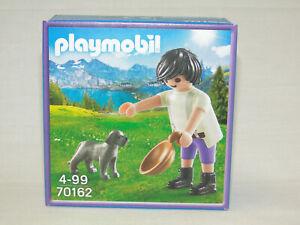 Playmobil 70162 Sonderfigur Milka Junge mit Hund Neu /& OVP