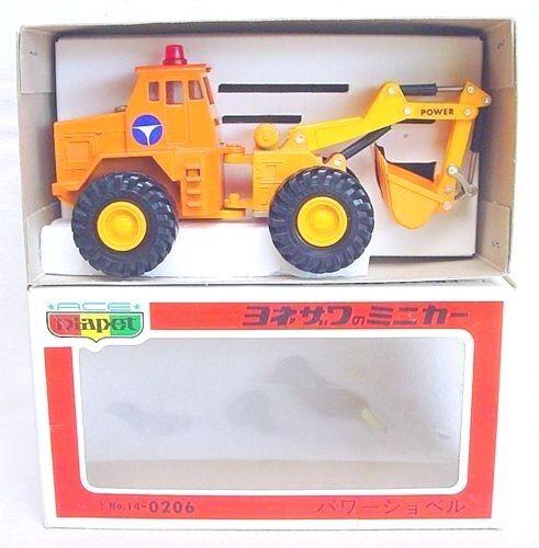 DIAPET Japón 1 72 Ace rueda Digger Camión Yonezawa Juguetes K-3 MIB`80 C-10  Raro