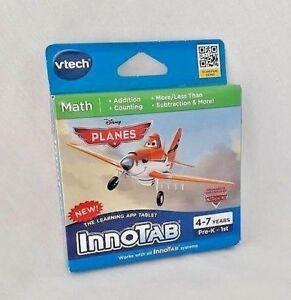 Vtech-Math-Planes-InnoTab-Learning-App-Tablet-Pre-K-First-1st-Grade-Disney-NEW