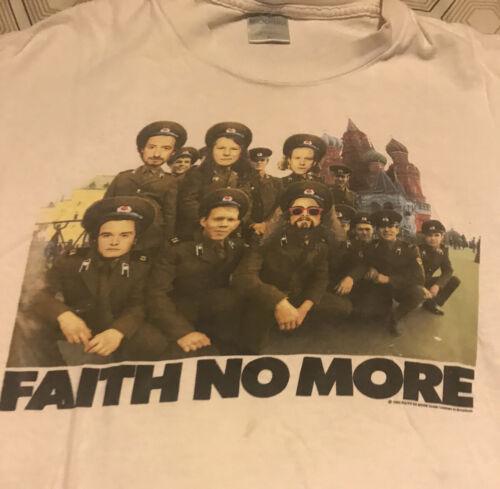vintage faith no more shirt 1992 X-L.NYCs Mercury