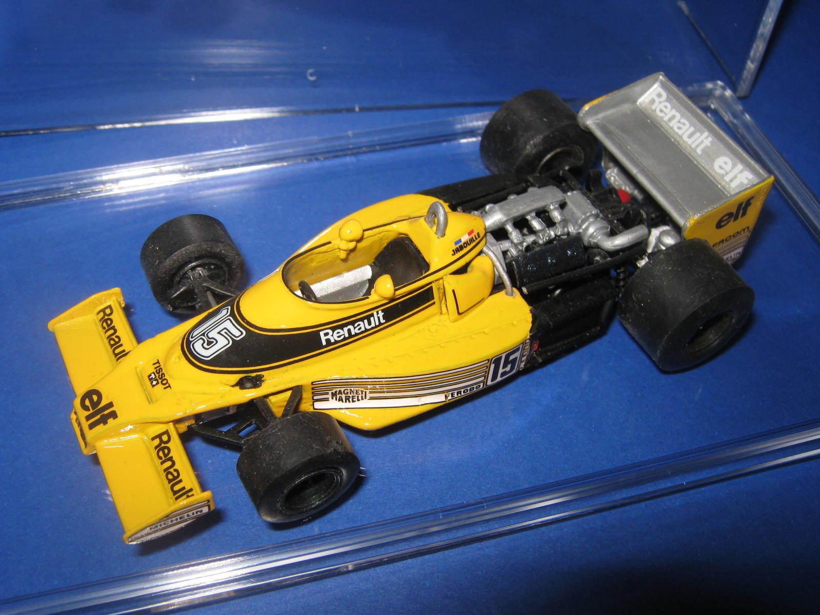 la calidad primero los consumidores primero 1 43 renault RS 01 turbo 1977 Platastone jp jp jp Jabouille Tenariv Handbuilt modelCoche  mejor servicio