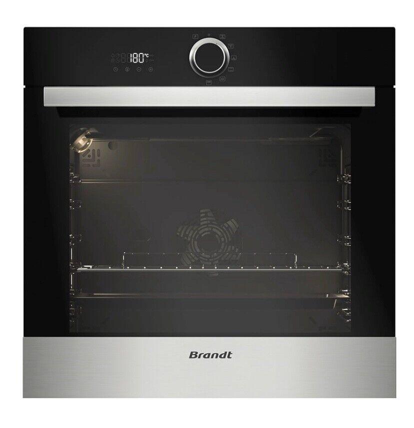Indbygningsovn, Brandt BXP5330X, b: 60 d: 54 h: 60