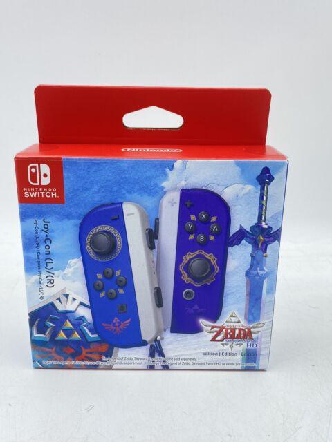EMPTY BOX ONLY The Legend of Zelda Skyward Sword Edition Nintendo Switch Joy-Con
