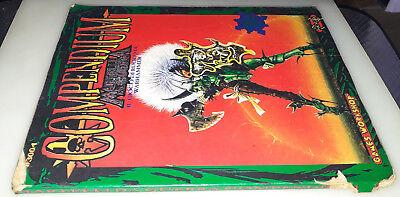 Affidabile Compendium, Martelli Da Guerra, Warhammer 40000, 1°ed. Nexus Games Workshop