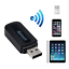 Wireless-Bluetooth-3-5mm-AUX-Audio-To-USB-Adapter-Home-Car-Music-Stereo-Receiver miniature 2