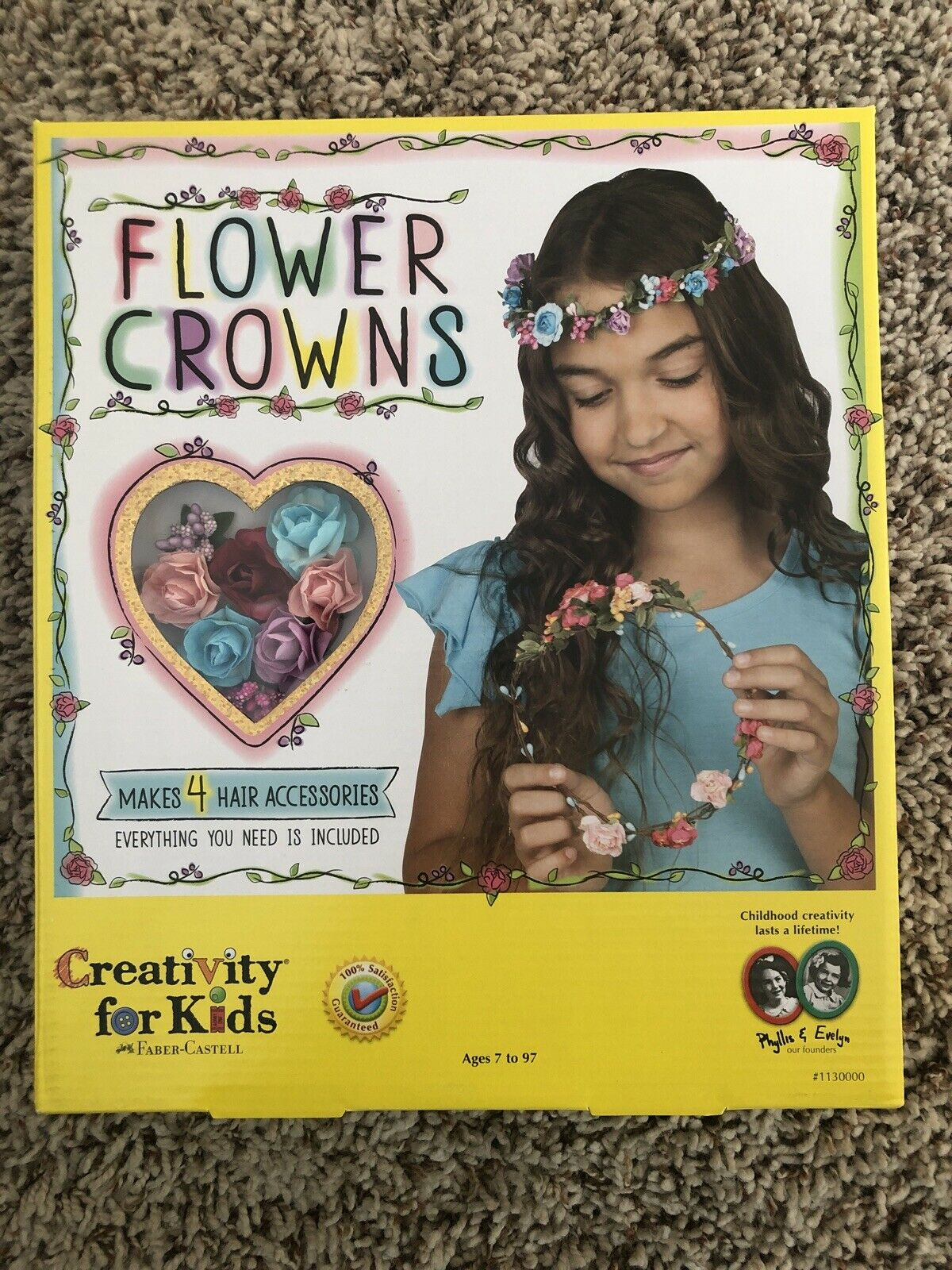 Faber-Castell 1130000 Flower Crowns