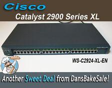 Cisco Catalyst 2900 Series XL Ethernet Switch WS-C2924-XL-EN 24 10/100 Ports