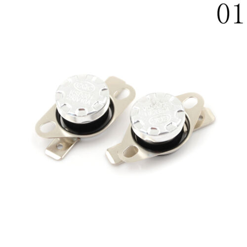 2Pcs 10A 250V KSD301 Thermostat Temperature Thermal Control Switch CRKUS
