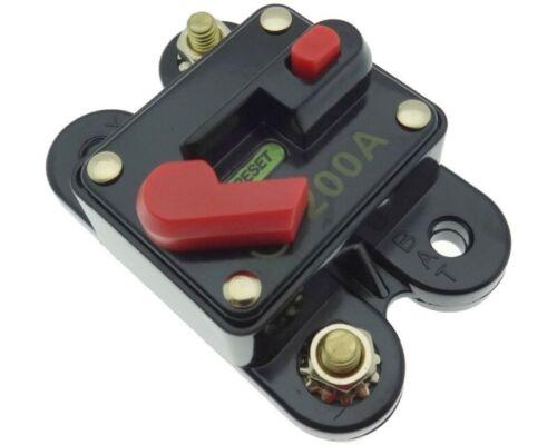 200 Ampere Sicherung Automat Automatik Schalter Halter Auto KFZ PKW LKW Camping
