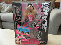 Mattel Barbie Fashionistas Hollywood Diva Sings And Lights Up Glam In Box